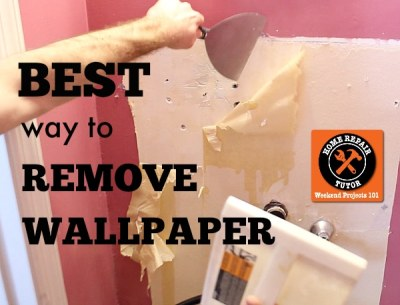 Best way to remove wallpaper: steam it like broccoli