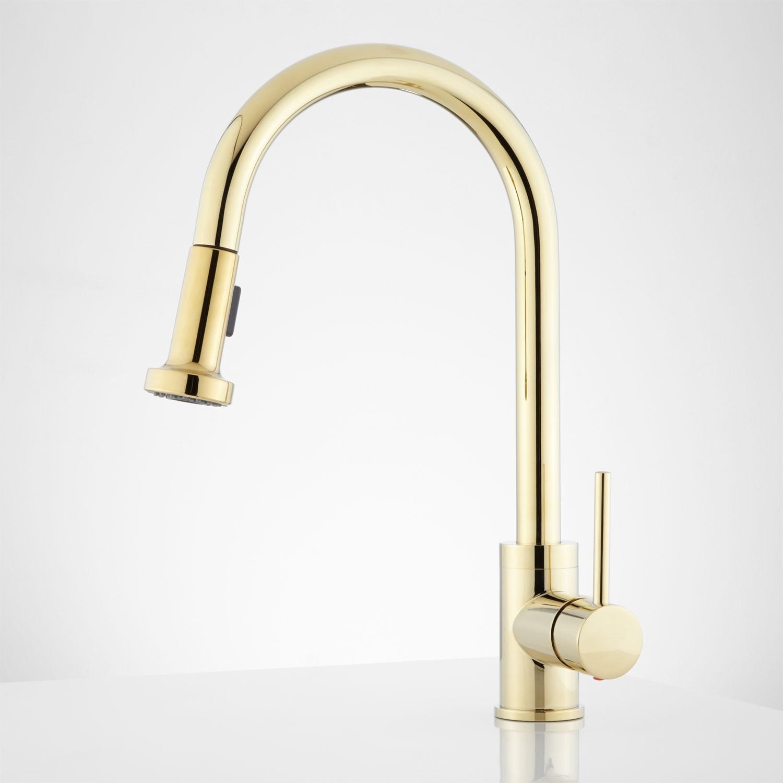 brass kitchen faucet unlacquered brass kitchen faucet Polished Brass Kitchen Faucet Unlacquered