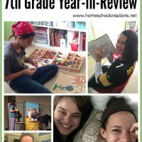 7th Grade Year in Review - Homeschool Curriculum Choices