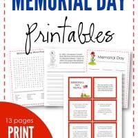 Memorial Day Printables - Free Printables