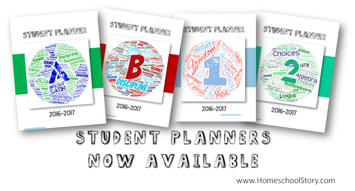 It's Here....Student Planners Now Available!