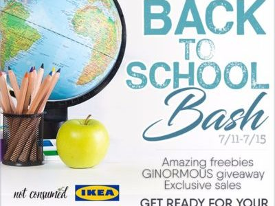 2016 Back to School Bash with Freebies
