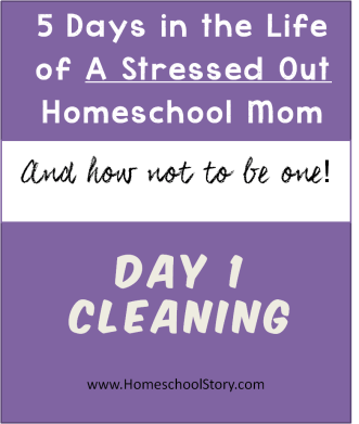 5 Days in the Life of a Stressed Out Homeschool Mom and How Not to Be One post by homeschoolstory.com