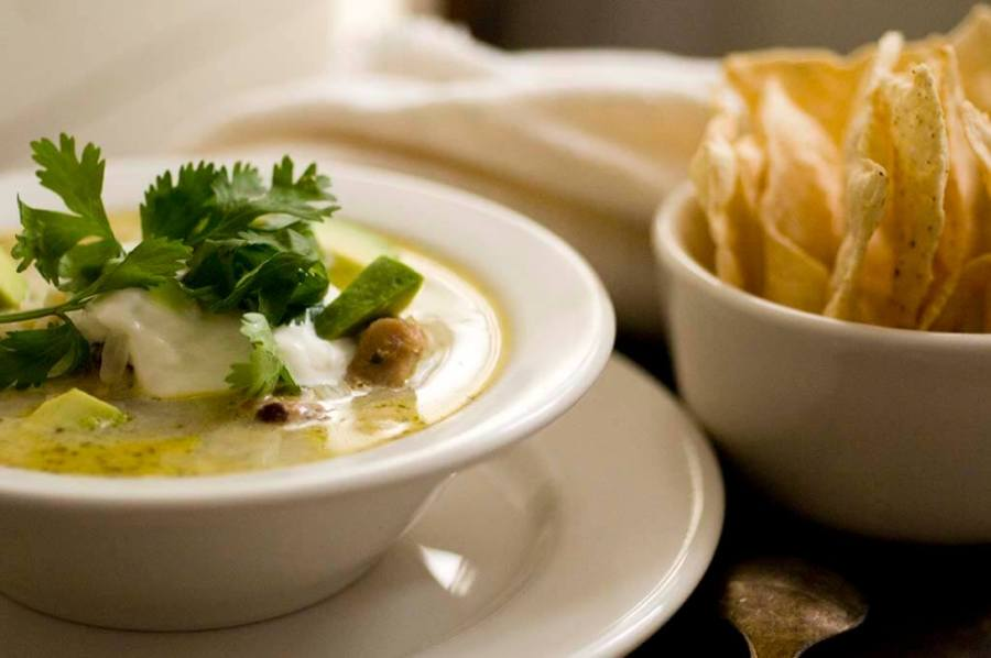 turkey enchilada verde soup | Homesick Texan
