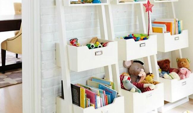 Toy Storage 5 Ways