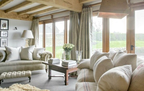 Converted Barn House Living