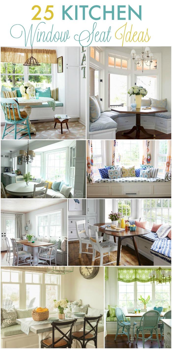 9 diy blogger kitchen makeovers kitchen window ideas 25 Kitchen window seat ideas