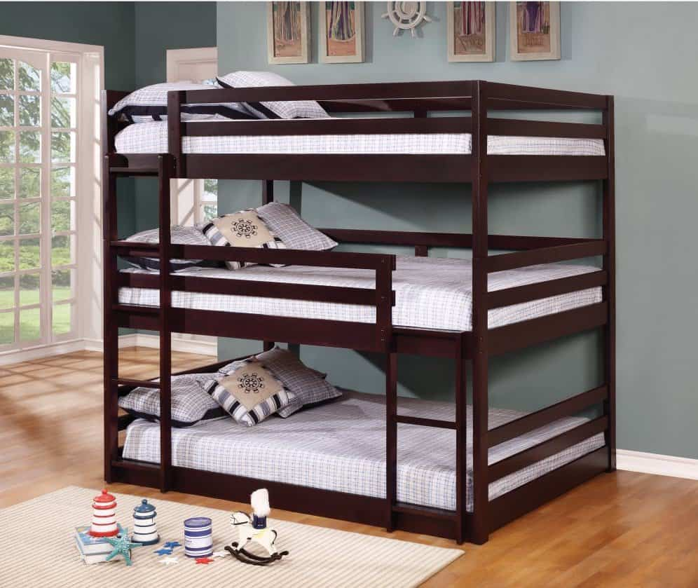 Particular Triple Bunk Beds Picks Full Loft Beds Full Bunk Beds Stairs Triple Decker Full Bunk Types baby Full Bunk Beds