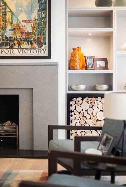 Medium Of Living Room Contemporary