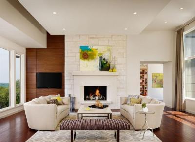 American Contemporary Interior Design Style • Home Tips