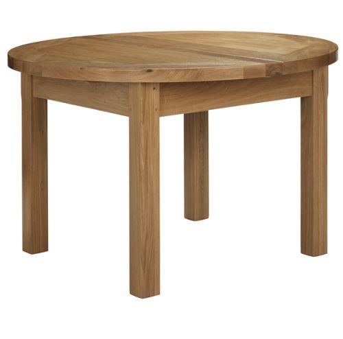 Rustic Dining Table Top 7 Styles Covered Hometone : ardennesroundextendingdiningtableimagetitlelmzjl from www.hometone.com size 500 x 494 jpeg 16kB