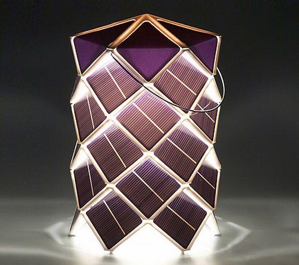 Solar lampion