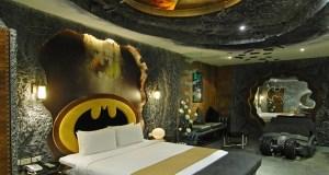 The Dark Knight Rises in a motel
