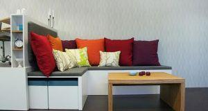 multipurpose furniture in room
