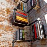 Industrial Pipe Corner Shelf 4