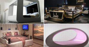 High tech Luxury Beds