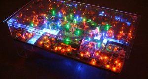 Electri-City Table by Benjamin Yates
