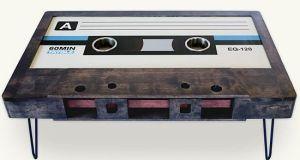 Cassette Tape Table
