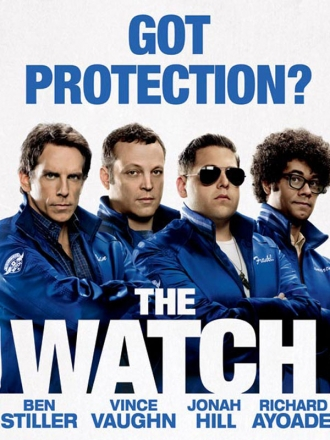 the watch poster july27 The Watch
