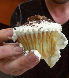Messy Cupcake Hand