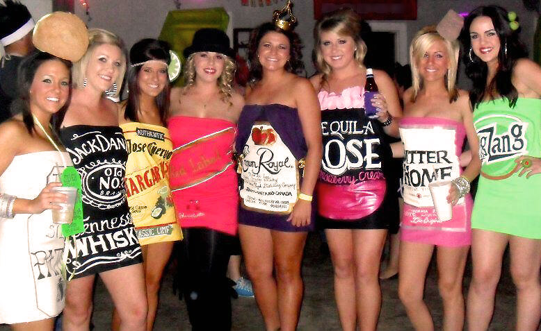 Best Boozy Adult Halloween Costumes