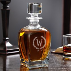 Small Of Whiskey Decanter Set