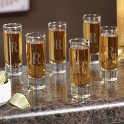 Small Crop Of Personalized Shot Glasses