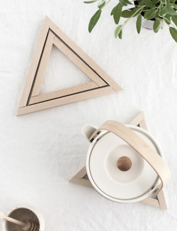 Soulful Is A Home Really A Home Without A Good To Diy Wood Triangle Trivets Homey Oh My What Is A Trivet Coaster What Is A Q Trivet Trivets Are Useful Course It Not Sure Wherei Was Going