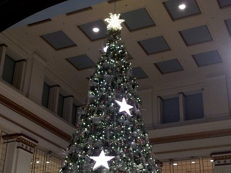 Field's Christmas tree at the Walnut Room