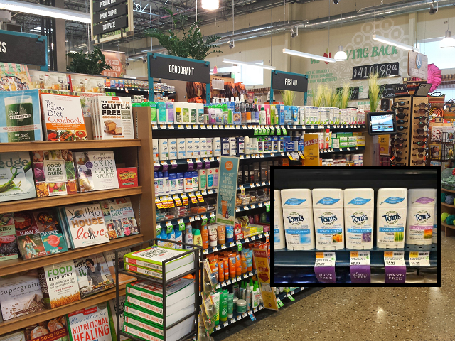 Where to find Tom's of Maine at Whole Foods