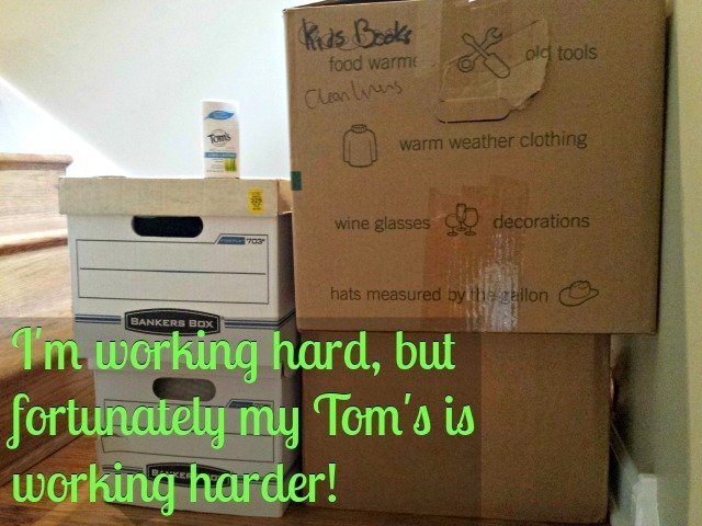 When working hard, Tom's of Maine provides long lasting all natural deodorant protection to keep you #NaturallyFresh #shop