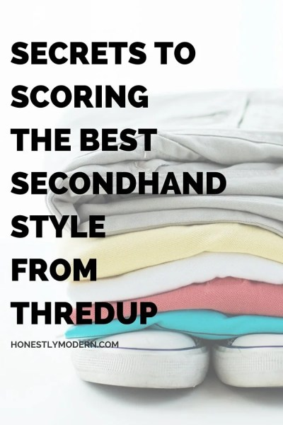 Secrets to Scoring the Best Secondhand Style from thredUP