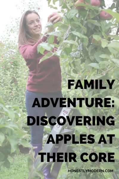 Family Adventure: Discovering Apples at Their Core