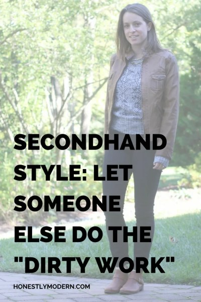 Secondhand Style: Let Clothes Mentor Do The Dirty Work [GIVEAWAY]