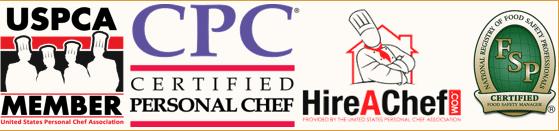 Seattle personal chefs USPCA CPC hireachef