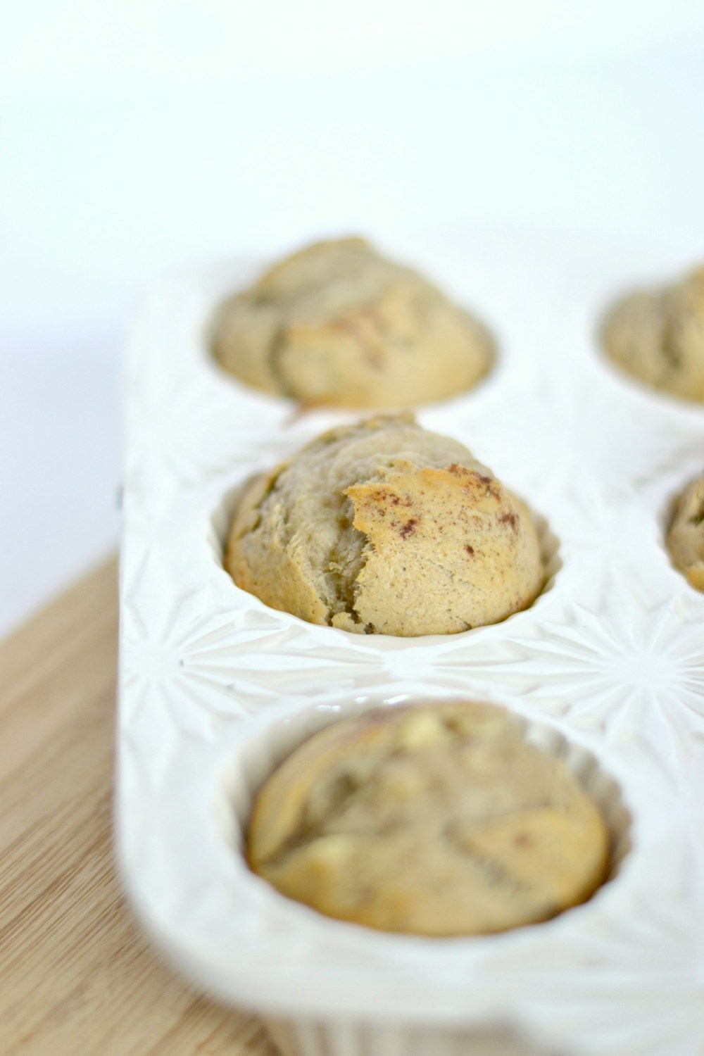 delicious healthy banana muffins