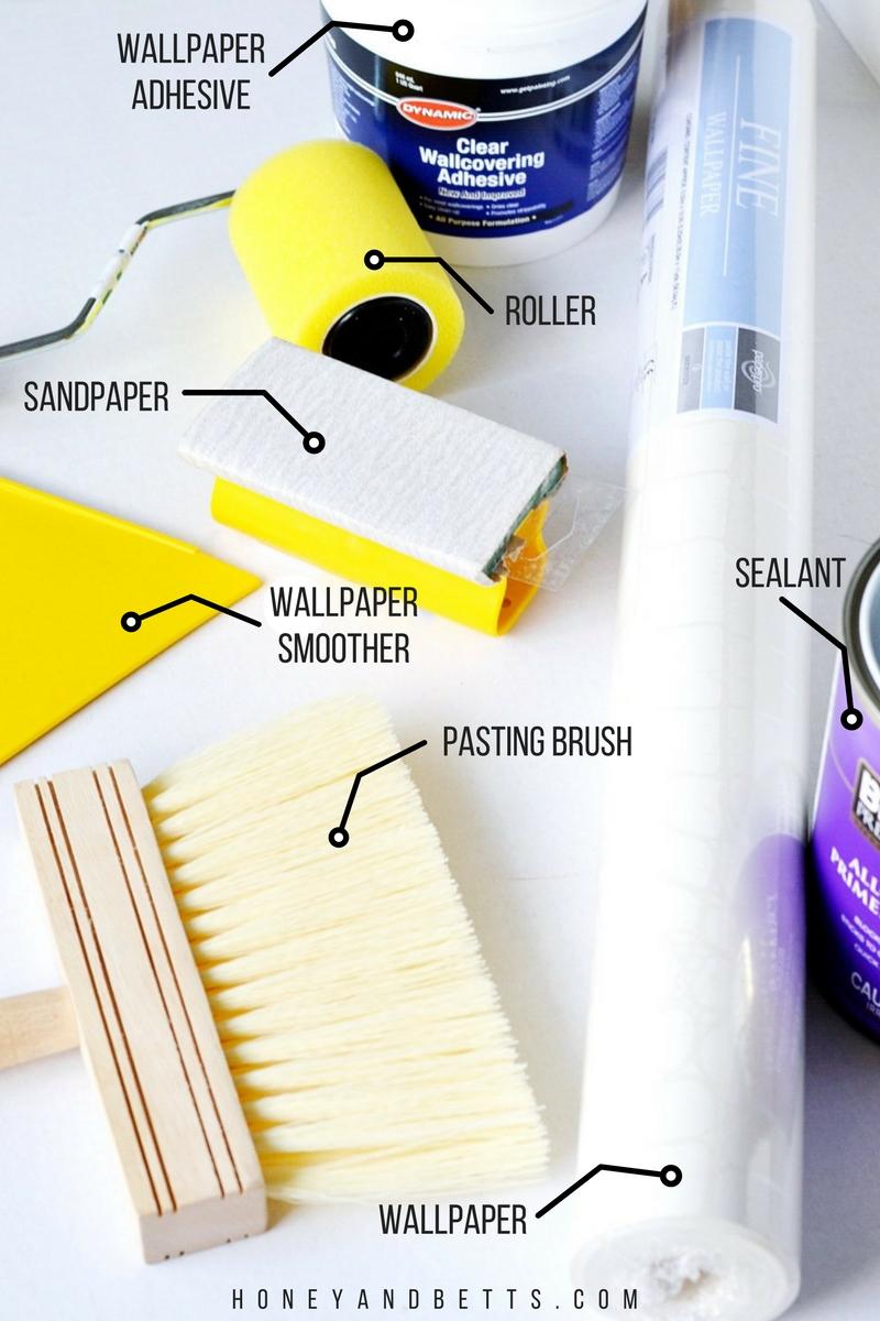 How To DIY Wallpaper A Desk