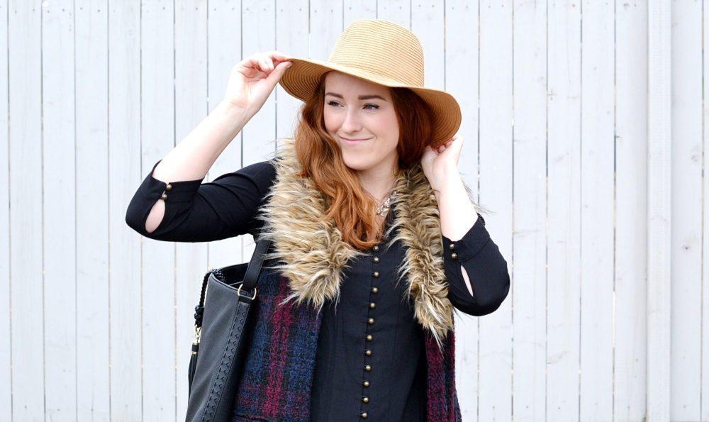 Anthropologie Faux Fur Vests On Canadian Blogger