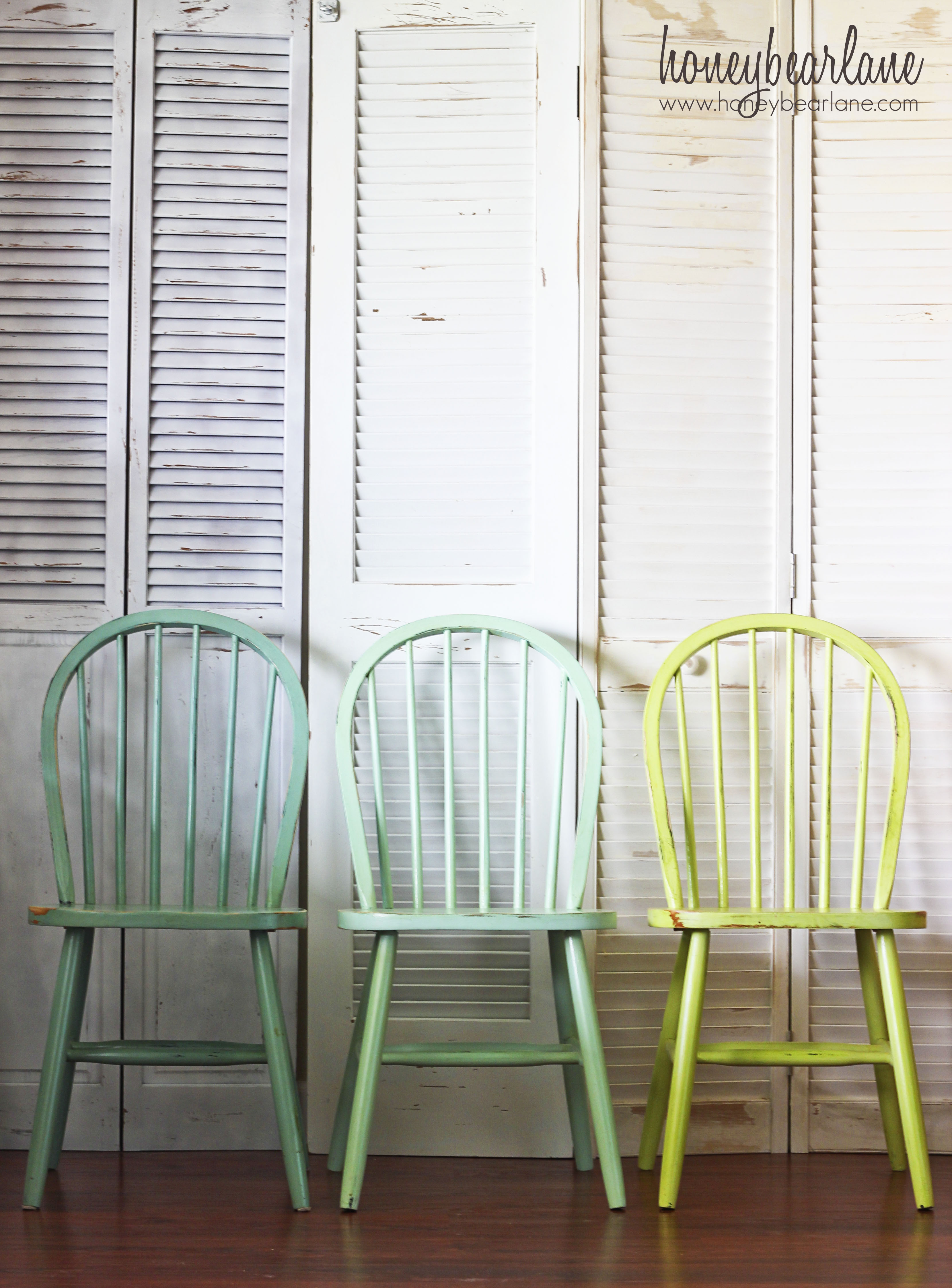 ombre windsor chairs turquoise kitchen chairs The