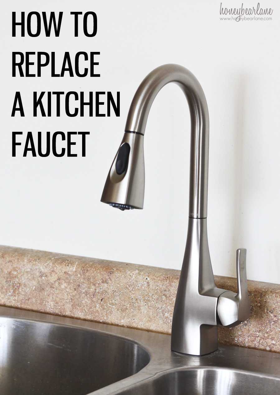 everything you need to know about replacing a kitchen faucet moen kitchen faucet dripping How to Replace a Kitchen Faucet