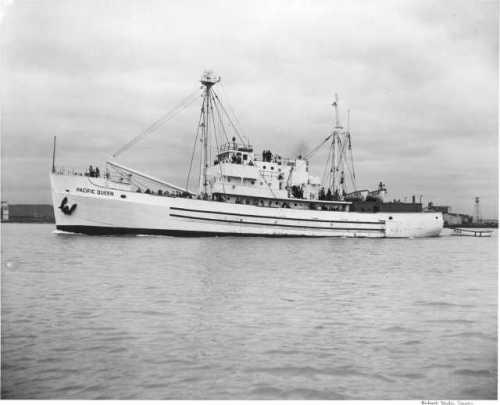 Pacific Queen after rebuild in 1949