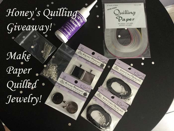 Autumn giveaway week 2 at Honey's Quilling