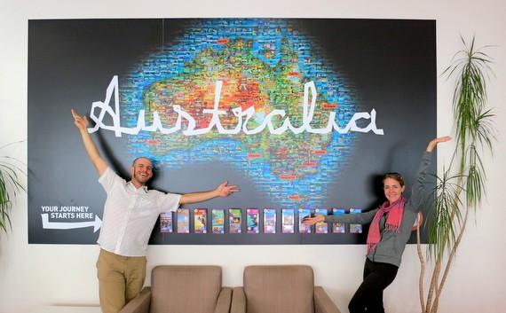 Australia Art Map