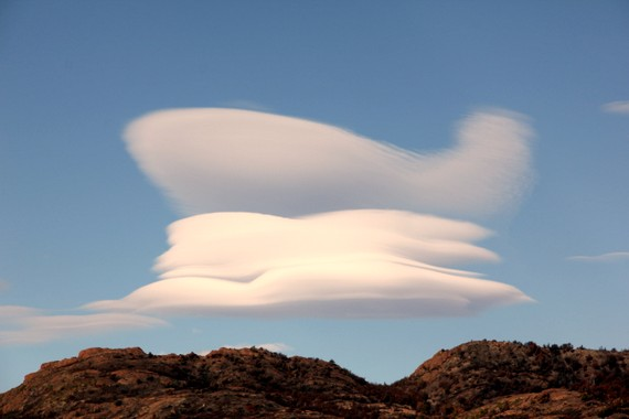 Cloud spaceships in Patagonia