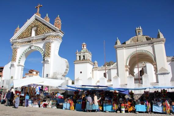 visiting copacabana bolivia