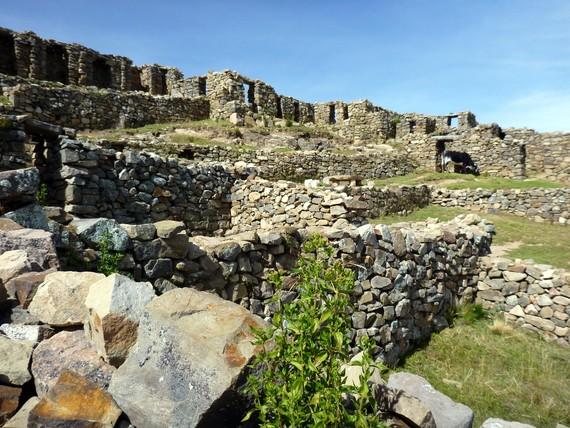 Incan Ruins Isla del Sol
