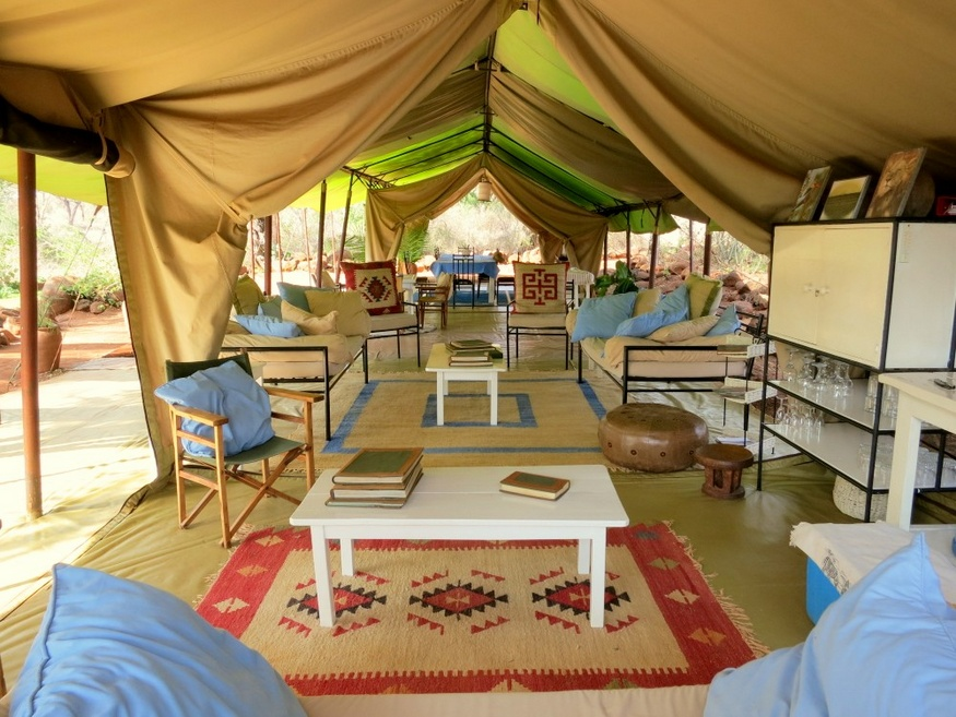 safari camp