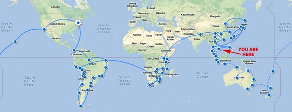 best rtw route