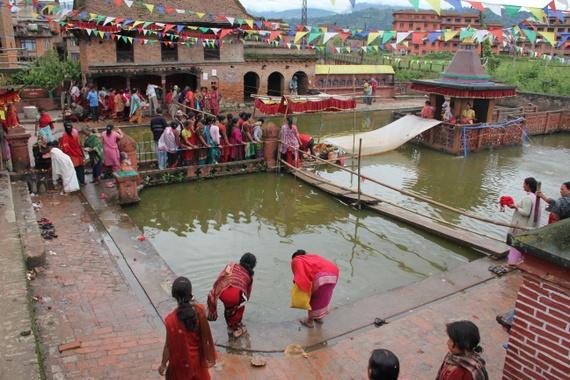 hindu rituals in Bhaktapur