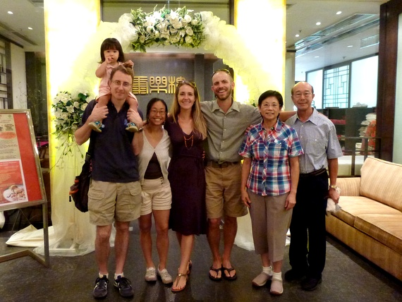 honeytrek and hong kong family